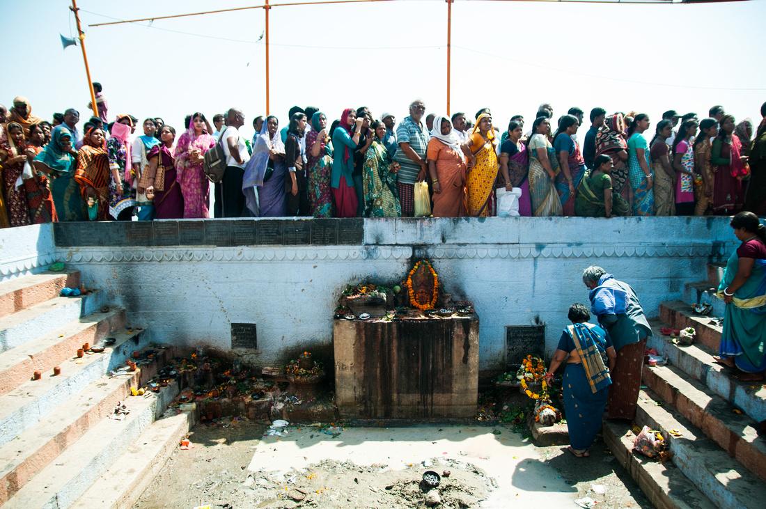 Shivratri Prayer Line